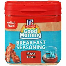 MCCORMICK GOOD MORNING BREAKFAST SEASONING ~ MAPLE BACON 2.22oz