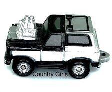 Micro Machine Chevy Blazer Hot Rod Chevrolet Truck Sport Utility Black Car Truck