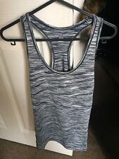 H&M Active Wear Gym Vest Top Size Small Grey Lycra