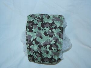 """Dog Puppy Belly Band Wrap Contoured Diapers Male Puppy Flannel lined 19"""" CAMO"""
