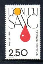 FRANCE MNH 1988 SG2826 BLOOD DONATION SERVICE