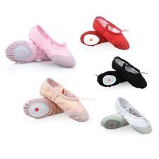Canvas Ballet Shoes Dance Yoga Gymnastic Split Sole Adult's & Children's Sizes