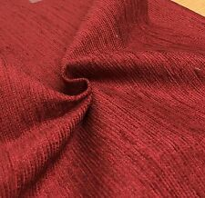 LAURA ASHLEY RED CHENILLE UPHOLSTERY FABRIC 1.5 METRES