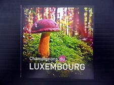 LUXEMBOURG 2013 Fungi Booklet with 2 Complete Sets FP9584