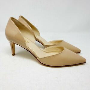New Nine West Solis Women's Light Pink Pointed Toe Slip On Pumps Size 6