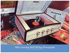 1965 Columbia 360/CBS/Pye Record Player 24 x 18 Poster