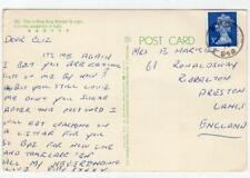 HONG KONG: 1972 postcard to England with F.P.O. 940 postmark (C47131)
