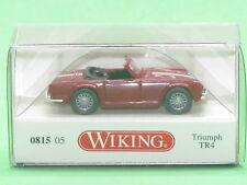 1:87 Wiking 081505 Triumph TR4 - purpurrot Blitzversand per DHL-Paket