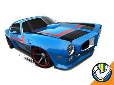 Hot Wheels Cars - '73 Pontiac Firebird Blue