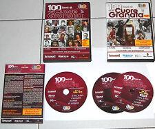 3 Dvd 100 ANNI DI CUORE GRANATA 1906-2006 Vol I 1 + Vol II 2 Torino Calcio