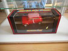 Slotcar Scalextric Mini Cooper in Red in Box
