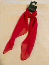 Wild Fable Hair Scarf Scrunchie Red - new with tag torn away