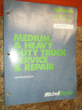 1987-93 MITCHELL MEDIUM HEAVY TRUCK ELECTRICAL AC IGNITION SERVICE REPAIR MANUAL