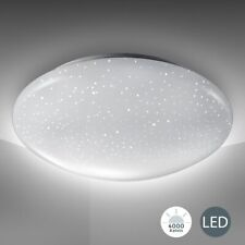 Dimmbar LED Deckenleuchte Sternenhimmel Deckenlampe Wohnzimmer mit Fernbedienung