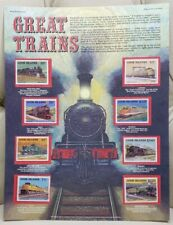 Great Trains World Of Stamp Series
