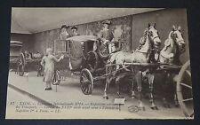 CPA CARTE POSTALE 1914 FRANCE LYON EXPO INTERNATIONALE TRANSPORTS CAROSSE XVIIIe