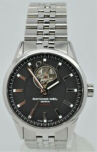 Raymond Weil Freelancer automatic open-heart gents stainless steel watch