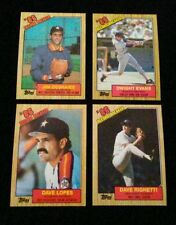 1987,1989,1990,1991,92 Topps base Finish/Complete Your Set w/Inserts 40 picks $1