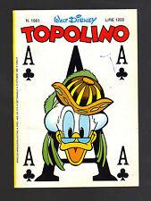 TOPOLINO N° 1561 - 27 OTTOBRE 1985