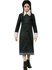 Girls The Addams Family Movie Wednesday Dress Costume