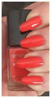CoverGirl Outlast Stay Brilliant Nail Gloss Polish FURY Orange Red Cream .37 oz