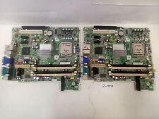 - LOT OF 2 HP DC5800 SFF LGA775 DDR2 motherboard 450667-001 461536-001 W/CPU