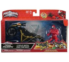 Power Rangers Ninja Steel, Mega Morph, Cycle With Red Ranger