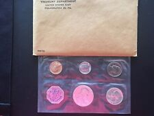 1960 P United States Mint Set Proof with Original Envelope