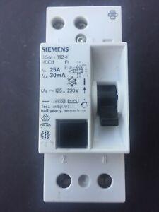 Siemens 25A 30mA RCD