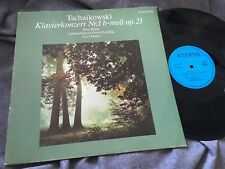 PETER ROSEL Tchaikovsky Piano Concerto #1 MASUR rare LP 1984 ETERNA STEREO ED1