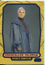 Star Wars Galactic Files Blue Parallel #15 Chancellor Valorum