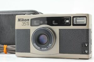 🔴FedEx✈【 Near Mint w/case 】 Nikon 35Ti 35mm F2.8 35mm Film Camera From JAPAN