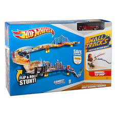 Hot Wheels Wall Tracks Downhill Flip Drop Track Set