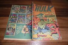 der GEWALTIGE HULK # 14 -- mit dem BLOB // Stan Lee+Marvel+Williams Verlag 1974