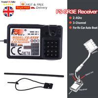 FlySky FS-GR3F 2.4Ghz 3CH Receiver For FS-GT3C GT3B RC Car Boat transmitter NEW-