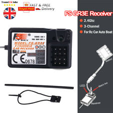 FlySky FS-GR3F 2.4Ghz 3CH Receiver For FS-GT3C GT3B RC Car Boat transmitter NEW