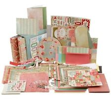 """Cosmo Cricket 9,000+ piece Papercrafting Kit w/2 8"""" x 8"""" Albums in Box"""