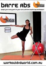 Barre Ballet Toning EXERCISE DVD - Barlates Body Blitz BARRE ABS WORKOUT!