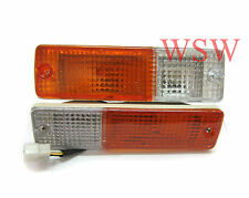 Nissan Patrol MQ 4WD Front Bar TURN SIGNAL MARKER BLINKER LIGHTS 80 81 82 83 87