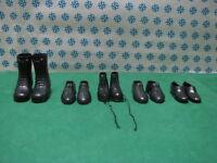 Vintage - Authentich 100% Gi Joe - Chaussures et les Amphibiens