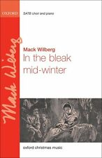 In the bleak mid-winter, Paperback- SATB & keyboard/orchestra - 9780193376526