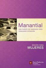 Manantial (Edición para mujeres): Una fuente de sabiduría para cualquier