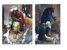 3 re magi resina landi 20 cm resina miniature presepe crib shereped gia