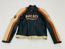 GIUBBOTTO IN PELLE UOMO MAN'S JACKET DUCATI OLD TIMES TG. 56 cod. 982604057UC