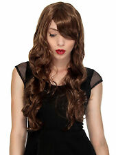 Halloween Costume Women's Long Curl Curly Wavy Cosplay Party Hair Wigs Full Wigs