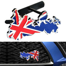 AUTO Uk GB Bandiera GRILL BADGE LEGA EMBLEMI British Union Jack Inghilterra per Auto