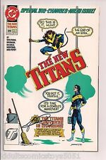 The New Titans #89 Nightwing Signed by George Perez W/COA (1992, DC)