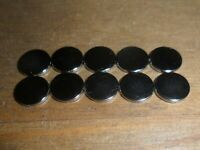 Scalextric 10 brand new 8mm diameter 1mm thick super strong magnets car spares