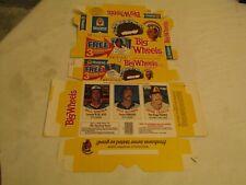 Hostess Big Wheels Baseball Trading Cards Box (Singer, Alexander, Tenace)