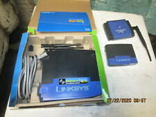 Linksys wireless G Broadband Router, Ethernet Bridge & work group switch.